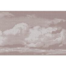 Livingwalls Fototapete Walls by Patel Tapete Clouds grau rosa Vliestapete glatt 4,00 m x 2,70 m