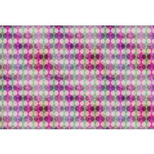 Livingwalls Fototapete Walls by Patel 2 Tapete Garland 1 200 g Vlies Premium grün rosa violett DD113937 4,00 m x 2,70 m