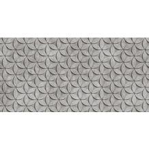 Livingwalls Fototapete Walls by Patel 3D Betontapete Tile grau schwarz Vliestapete glatt 5,00 m x 2,50 m