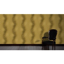 Livingwalls futuristische 3D Tapete Harmony in Motion by Mac Stopa Tapete beige braun gelb 10,05 m x 0,53 m