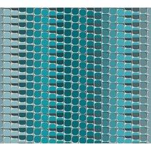 Livingwalls futuristische 3D Tapete Harmony in Motion by Mac Stopa Tapete blau grau weiß 327272 10,05 m x 0,53 m