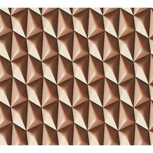 Livingwalls futuristische 3D Tapete Harmony in Motion by Mac Stopa Tapete braun 327086 10,05 m x 0,53 m