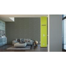 Livingwalls futuristische 3D Tapete Harmony in Motion by Mac Stopa Tapete grau grün schwarz 10,05 m x 0,53 m