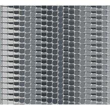 Livingwalls futuristische 3D Tapete Harmony in Motion by Mac Stopa grau metallic weiß 327271 10,05 m x 0,53 m