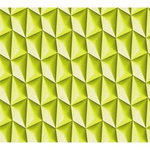 Livingwalls futuristische 3D Tapete Harmony in Motion by Mac Stopa Tapete grün 327085 10,05 m x 0,53 m