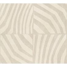Livingwalls grafische Mustertapete Revival beige creme metallic 342192 10,05 m x 0,53 m