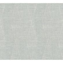 Livingwalls grafische Mustertapete Revival blau creme 342184 10,05 m x 0,53 m