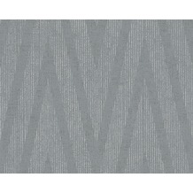 Livingwalls Mustertapete Titanium Tapete grau metallic 306453