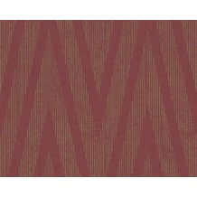Livingwalls Mustertapete Titanium Tapete metallic rot 306455 10,05 m x 0,53 m