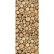 Livingwalls Panel Pop.up Panel 2, beige, braun 2,50 m x 0,35 m