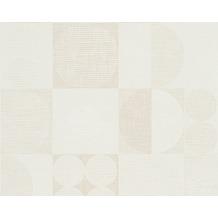 Livingwalls Retro-Mustertapete Titanium Tapete beige braun creme 306444 10,05 m x 0,53 m