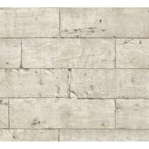 Livingwalls selbstklebendes Panel Pop.up Panel 3D grau beige 368471 2,50 m x 0,52 m