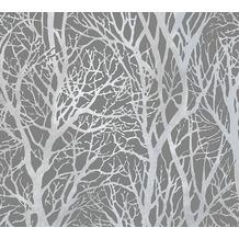 Livingwalls selbstklebendes Panel Pop.up Panel 3D silberfarben 368232 2,50 m x 0,52 m