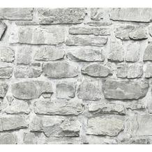 Livingwalls selbstklebendes Panel Pop.up Panel 3D weiß grau 368461 2,50 m x 0,52 m