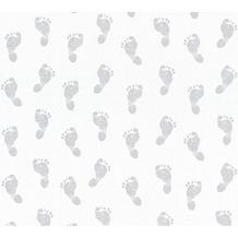 Livingwalls selbstklebendes Panel Pop.up Panel 3D weiß grau 368311 2,50 m x 0,52 m