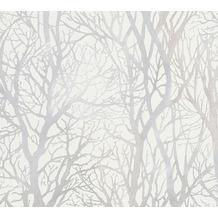 Livingwalls selbstklebendes Panel Pop.up Panel 3D weiß metallic 368231 2,50 m x 0,52 m
