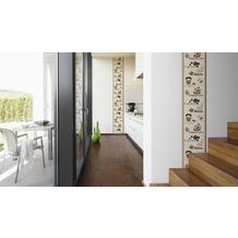 "Livingwalls selbstklebendes Panel ""Pop.up Panel"", beige, braun 2,50 m x 0,35 m"