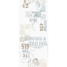"Livingwalls selbstklebendes Panel ""Pop.up Panel"", blau, braun, weiss 942342 2,50 m x 0,35 m"