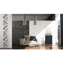 "Livingwalls selbstklebendes Panel ""Pop.up Panel"", braun, weiss 2,50 m x 0,35 m"