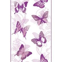 "Livingwalls selbstklebendes Panel ""Pop.up Panel"", violett, weiss 942582 2,50 m x 0,35 m"