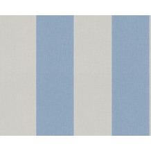 Livingwalls Streifentapete Elegance 2, Vliestapete, beige, blau 948311 10,05 m x 0,53 m