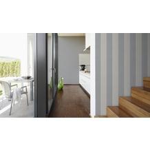 Livingwalls Streifentapete Elegance 2, Vliestapete, beige, grau 10,05 m x 0,53 m