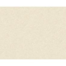 Livingwalls Uni-, Strukturtapete Titanium Tapete beige creme 315328 10,05 m x 0,53 m