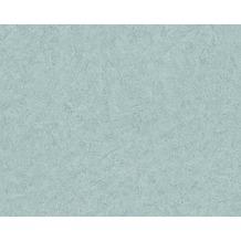 Livingwalls Uni-, Strukturtapete Titanium Tapete blau grün metallic 315427 10,05 m x 0,53 m