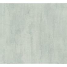 Livingwalls Unitapete in Vintage Optik Revival grün metallic 340819 10,05 m x 0,53 m