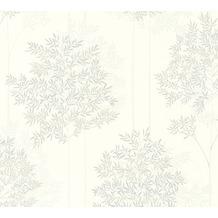 Livingwalls Vliestapete Colibri Tapete floral weiß grau beige 366262 10,05 m x 0,53 m