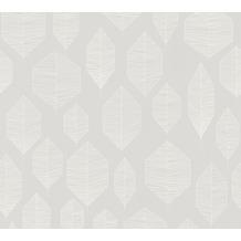 Livingwalls Vliestapete Colibri Tapete grafisch modern weiß grau beige 362095 10,05 m x 0,53 m