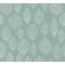 Livingwalls Vliestapete Colibri Tapete grafisch modern weiß grün 362094 10,05 m x 0,53 m