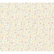 Livingwalls Vliestapete Cozz Ökotapete floral jung beige creme rosa 362922 10,05 m x 0,53 m