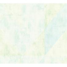 Livingwalls Vliestapete Djooz 2 Tapete blau grün 358772 10,05 m x 0,53 m