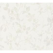 Livingwalls Vliestapete Hygge Tapete floral beige creme grau 363971 10,05 m x 0,53 m