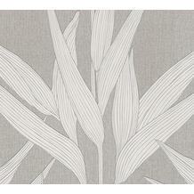 Livingwalls Vliestapete Hygge Tapete floral braun creme 361233 10,05 m x 0,53 m