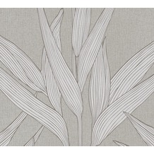 Livingwalls Vliestapete Hygge Tapete floral braun grau 361231 10,05 m x 0,53 m