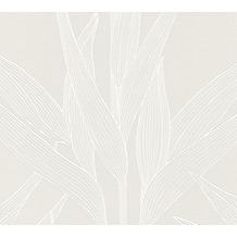 Livingwalls Vliestapete Hygge Tapete floral creme 361232 10,05 m x 0,53 m