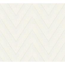 Livingwalls Vliestapete Hygge Tapete grafisch beige creme 363842 10,05 m x 0,53 m
