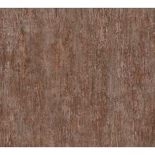Livingwalls Vliestapete Industrial Unitapete braun rot grau 377464 10,05 m x 0,53 m
