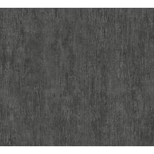 Livingwalls Vliestapete Industrial Unitapete grau schwarz 377466 10,05 m x 0,53 m