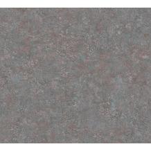 Livingwalls Vliestapete Industrial Unitapete grau violett blau 377444 10,05 m x 0,53 m