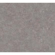 Livingwalls Vliestapete Industrial Unitapete grau violett blau 377443 10,05 m x 0,53 m
