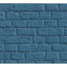 Livingwalls Vliestapete Metropolitan Stories Anke & Daan Amsterdam blau 369123 10,05 m x 0,53 m