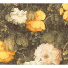 Livingwalls Vliestapete Metropolitan Stories Anke & Daan Amsterdam floral gelb 369211