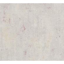Livingwalls Vliestapete Metropolitan Stories Betontapete Ava New York beige grau rot 379035 10,05 m x 0,53 m