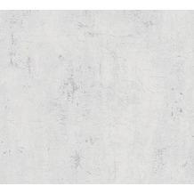 Livingwalls Vliestapete Metropolitan Stories Betontapete Ava New York beige weiß 379031 10,05 m x 0,53 m