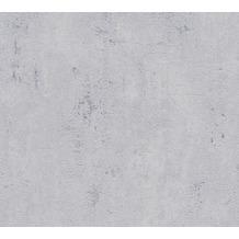 Livingwalls Vliestapete Metropolitan Stories Betontapete Ava New York grau 379033 10,05 m x 0,53 m