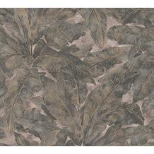 Livingwalls Vliestapete Metropolitan Stories Francesca Milano beige metallic schwarz 369271