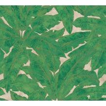 Livingwalls Vliestapete Metropolitan Stories Francesca Milano beige grün metallic 369273
